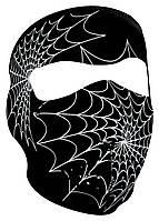 Неопреновая полулицевая маска Spider Web