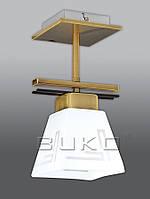 Люстра BUKO 1*Е27 МАТ.золото+белый 160*125*280мм