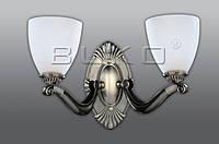 Бра BUKO 2*E27 бронза+белый 270*145*270ММ