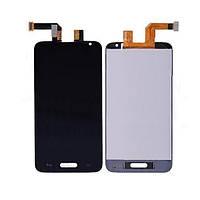 Дисплей (экран) для LG D320 Optimus L70, D321 Optimus L70, MS323 + с сенсором (тачскрином) черный Оригинал