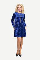 Новогоднее платье полубатального размера