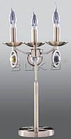 Светильник настольный BUKO 3*Е14 свеча бронза D310*H470мм