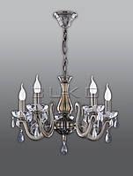 Люстра BUKO 5*Е27 свеча бронза D600*H470мм