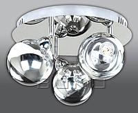 Светильник декоративный BUKO LED 3*5W хром+хром D350*H240мм