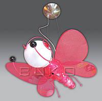 Люстра BUKO 1*Е27 БАБОЧКА розовая 450*400*800мм
