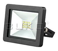 LED прожектор SMD BUKO 10W 6400K черный IP65 800Lm