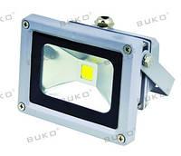 LED прожектор SMD BUKO 10W 6400K серый 800Lm