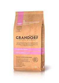 Grandorf Sensitive Care Holistic Lamb&Rice Puppy корм для щенков с ягненком и рисом, 1 кг