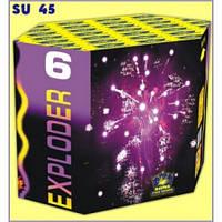 Салютная установка 13-зар. Exploder 6