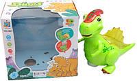 Игрушка музыкальная динозавр Дино с 3D светом
