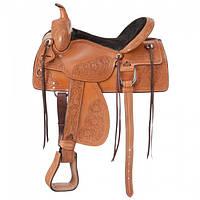 Седло  ковбойское Western для лошади, осла, мула