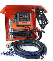 Gamma DC-65 - Мобильная заправочная станция для дизтоплива с расходомером, 12/24 В, 45/65л/мин. Автоматический
