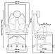 Кресло геймерское TRIO (Junior line), фото 6