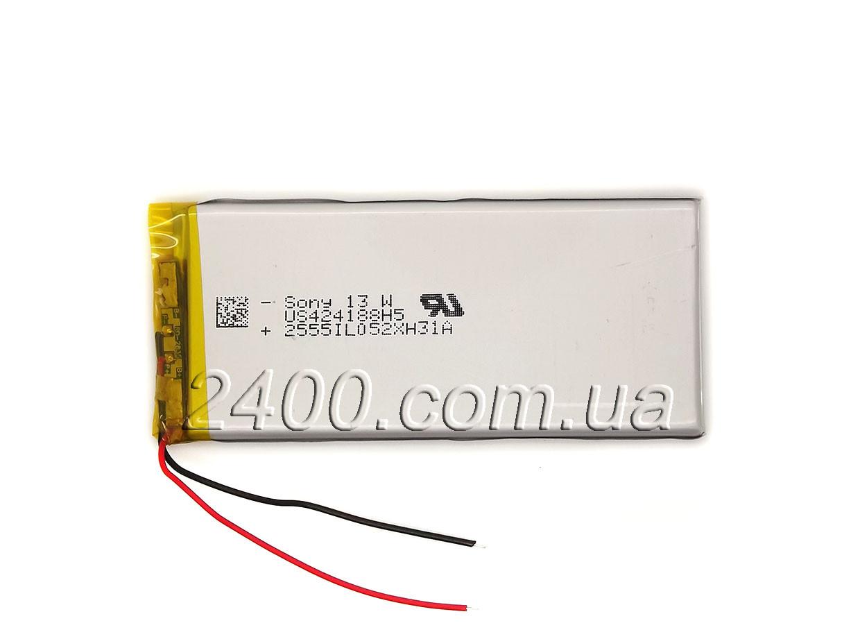 Аккумулятор для электронных книг 2300 мАч 404188 мм 3,7в телефонов 2300 mAh 3.7v 4*41*88