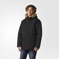 Мужская зимняя парка adidas Ball-fiber Parka Jacket AY9920