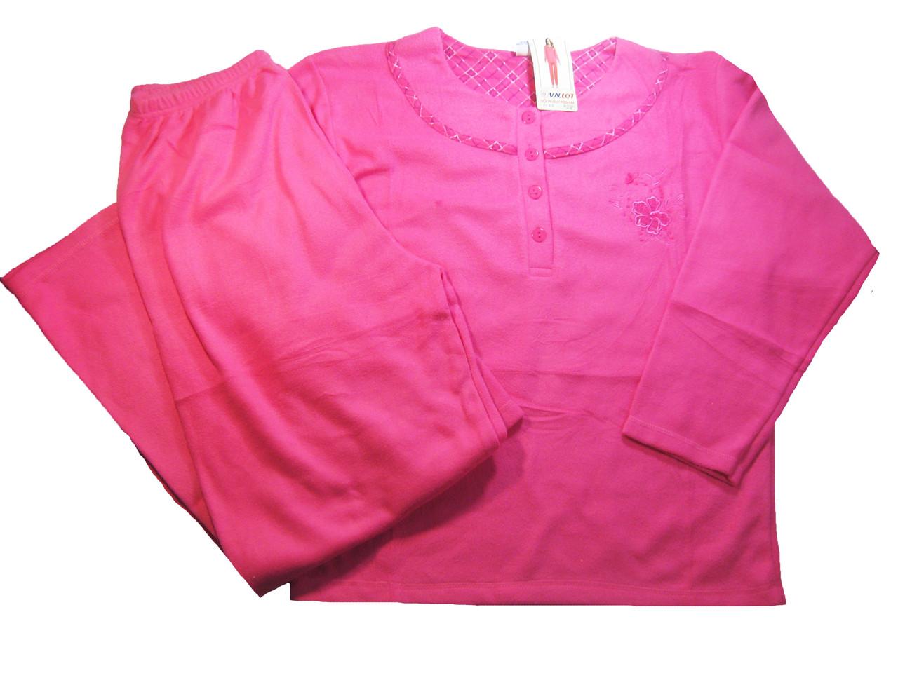 Пижама женская флисовая, размеры М-ХЛ, арт. 920