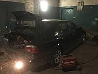 Развод глушителя на две стороны BMW