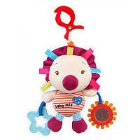Музыкальная игрушка Baby Mix P/1131-0500 Ежик с клипсой