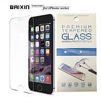 """Защитное противоударное стекло на экран Baixin для Iphone 7 Plus (5.5"""") в фирменной упаковке"""