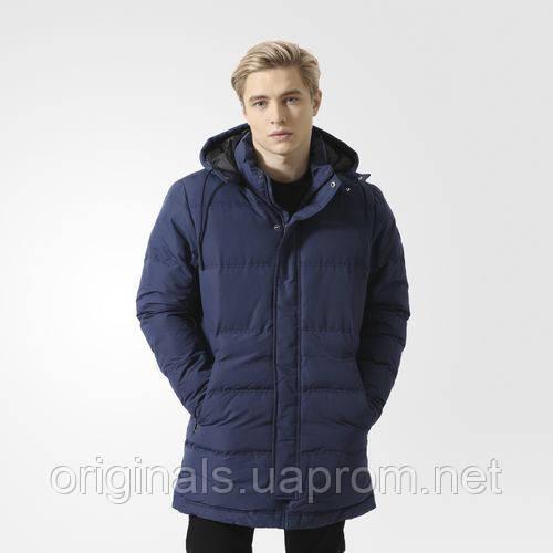 Парка удлиненная для мужчин Adidas Hooded Outdoor BK0665
