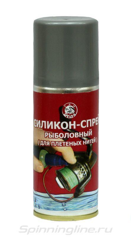 Силикон рыболовный Три Кита жидкий спрей для плетеных нитей  мононитей шнуров рыболовных - БЛЕСНА в Кременчуге