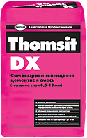 THOMSIT DX 0.5-10 мм финишное выравнивание оснований, 25 кг.