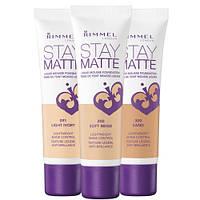 Матирующий тональный мусс - Rimmel Stay Matte Liquid Mousse Foundation