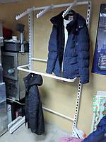 Торговый стеллаж для одежды б/у, торговые стеллажи б.у