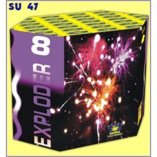 Салютная установка 13-зар. Exploder 8