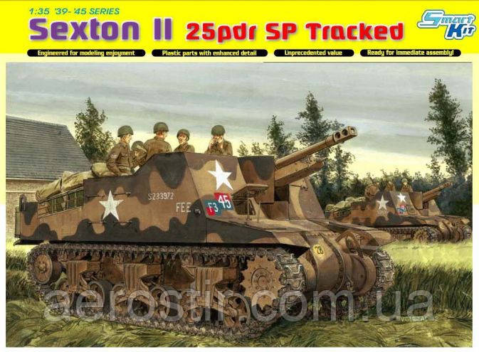 SEXTON II 25pdr SP Tracked 1/35 DRAGON 6760