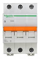 Автоматический выключатель SCHNEIDER ВА63 3П 10A C