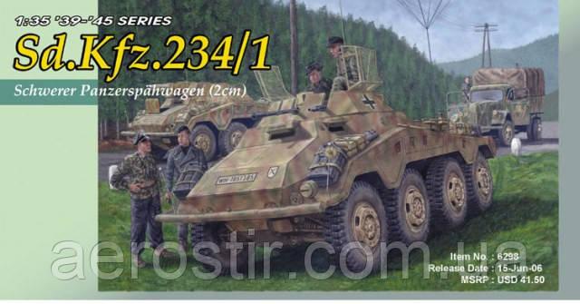 Sd.Kfz.234/1 1/35 DRAGON 6298