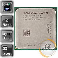 Процессор AMD Phenom II X2 570 (2×3.50GHz/1Mb/AM3) б/у