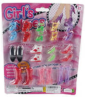 Набор Обувь для куклы типа Барби