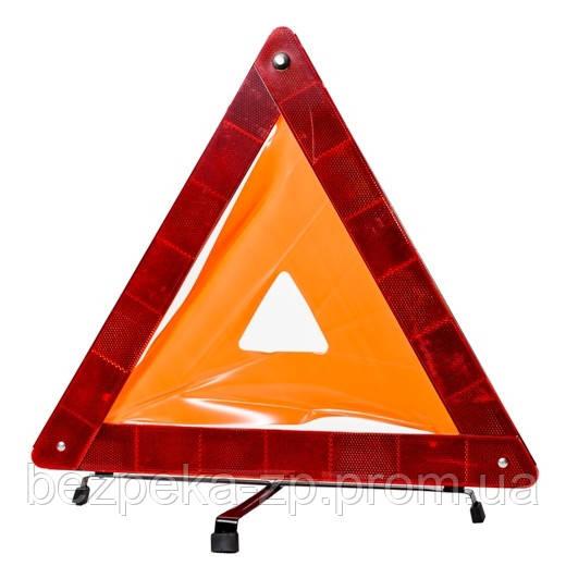 Знак аварийной остановки ЗА 002 усиленный - ООО «БЕЗПЕКА» в Запорожье
