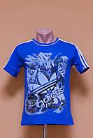 Футболка подростковая Adidas со стильным  принтом