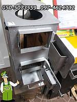Буржуйка стальная с конфоркой для приготовления пищи