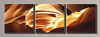 Картина модульная на холсте Абстракция Горы