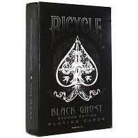 Карты Bicycle Black Ghost (2-е издание)