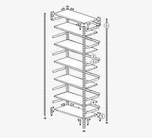 Комплектующие складского стеллажа