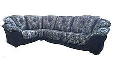"""Элегантный кожаный угловой диван  """"Pejton"""" (Пэйтон), фото 2"""