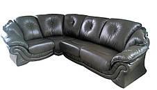 """Элегантный кожаный угловой диван  """"Pejton"""" (Пэйтон), фото 3"""