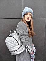Необычный серебряный рюкзак