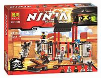 """Конструктор Bela Ninja 10522 """"Побег из тюрьмы Криптариум"""" (241 дет) HN, КК"""