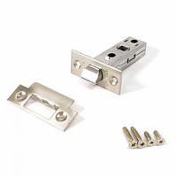 Защелка дверная под ручку для межкомнатных дверей Apecs 5400-Nis(UA) (никелированный сатин)