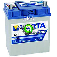 Аккумулятор 40Ah-12v VARTA BD(A14) (187х127х227),L,EN330