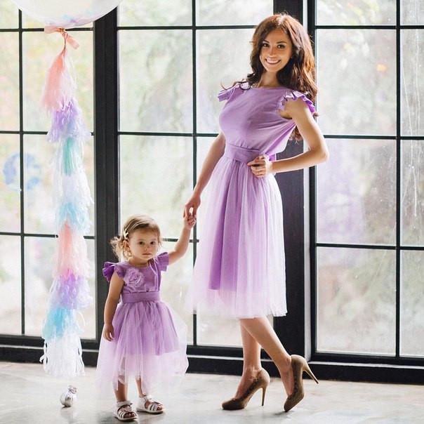 платье мама дочка фото