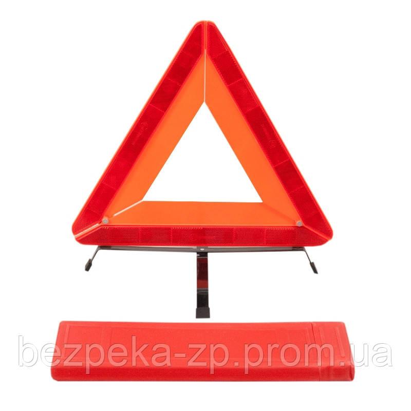 Знак аварийной остановки ЗА 008 усиленный - ООО «БЕЗПЕКА» в Запорожье