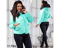 Куртка с мехом - 11784