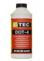 Тормозная жидкость E-TEC DOT-4 0,5лит